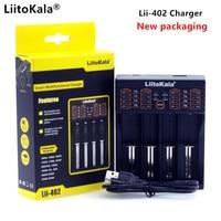 Liitokala lii-S1 lii-100 lii-202 lii-402 pd4 pl4 carregador pode ser carregado 1.2 v 3.7 v aa/aaa 26650 18650 16340 bateria de lítio-íon