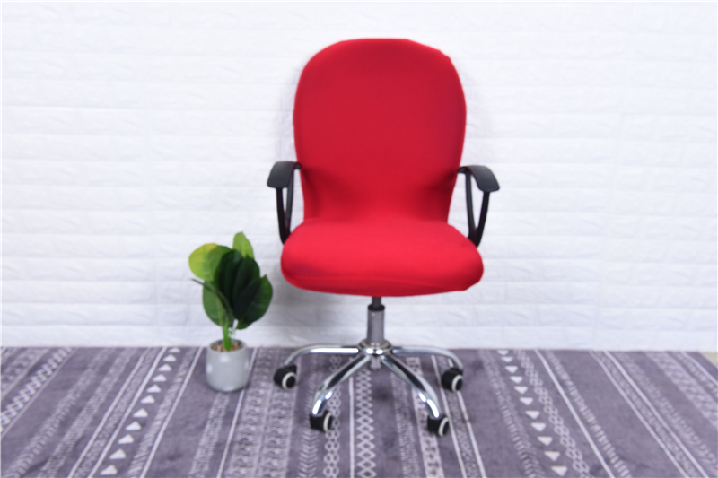 Elasticity Office Computer Chair Cover Side Arm Chair Cover Recouvre Chaise Stretch Rotating Lift Chair Cover Without Chair (9)