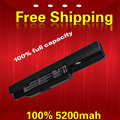 5200 mah Laptop battery A32-K53  A42-K53 For ASUS X43BY A43SA A53   K53SJ  A53SV X43TA  K53U  A53Z K53SK