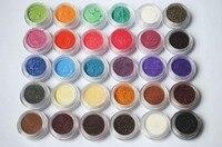 30 Kolorów Cieni do Powiek w Proszku Pigmentu Kolorowe Mineral Eyeshadow Makeup 30 Kolorów-30