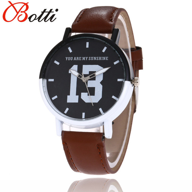 Dropshipping Cheap Lovers Watch Men Women Leather Luxury Brand Quartz Watches Ca