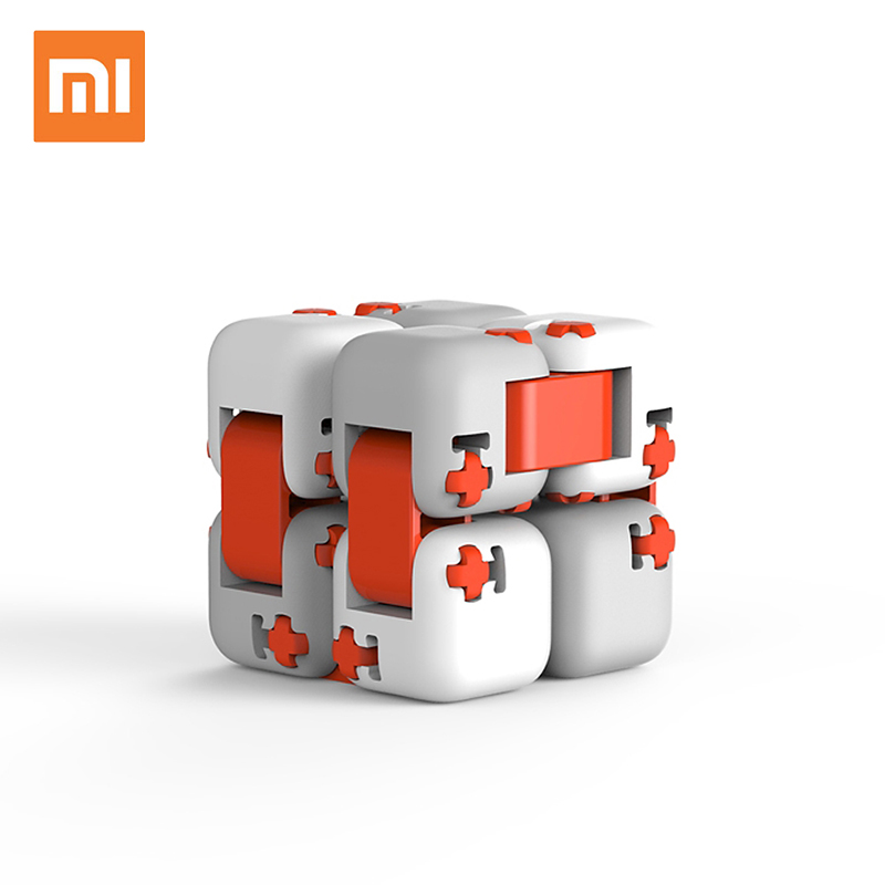 Original xiaomi mi mitu Cubes Spinner Finger Bricks Intelligence Toys Smart Fidget Magic Cubes Infinity Toys Anti Stress Anxiety(China)
