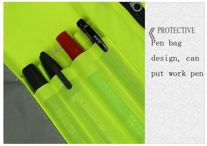 Reflective Safety Vest 011