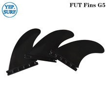 Surfing Plastic Future Fins G5 Black color Fin Hight Quality