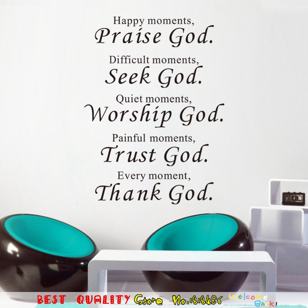 Stickers bus picture more detailed picture about bible wall bible wall stickers home decor praise seek worship trust thank god quotes wall decals christian amipublicfo Choice Image