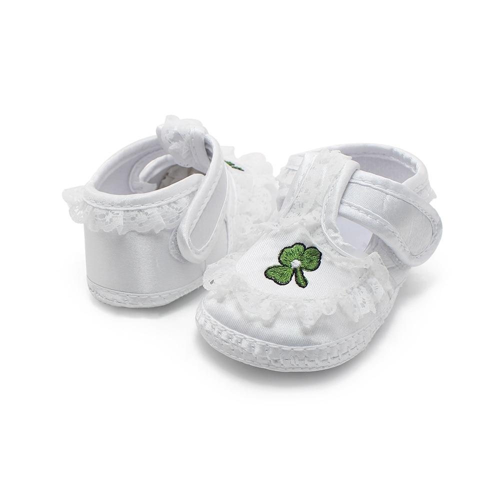 Zapatos de bebé recién nacidos blancos puros Zapatos de bautizo de - Zapatos de bebé - foto 4