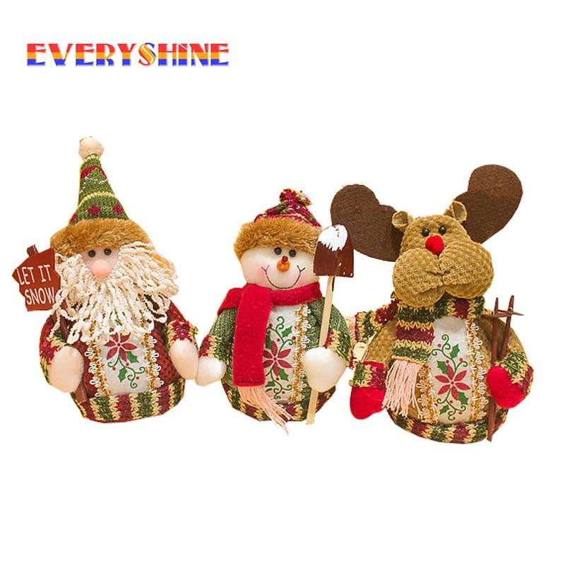 Дома Decora рождественские украшения Санта Клаус снеговик лося украшения Елочная игрушка для детей SD158 ...