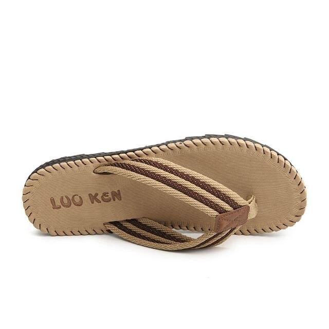 LAISUMK 4 ألوان صنادل شاطئ حذاء رجالي شبشب صيفي الوجه يتخبط الرجال الصنادل حجم كبير 45 Sandalias Hombre Chausson أوم 5