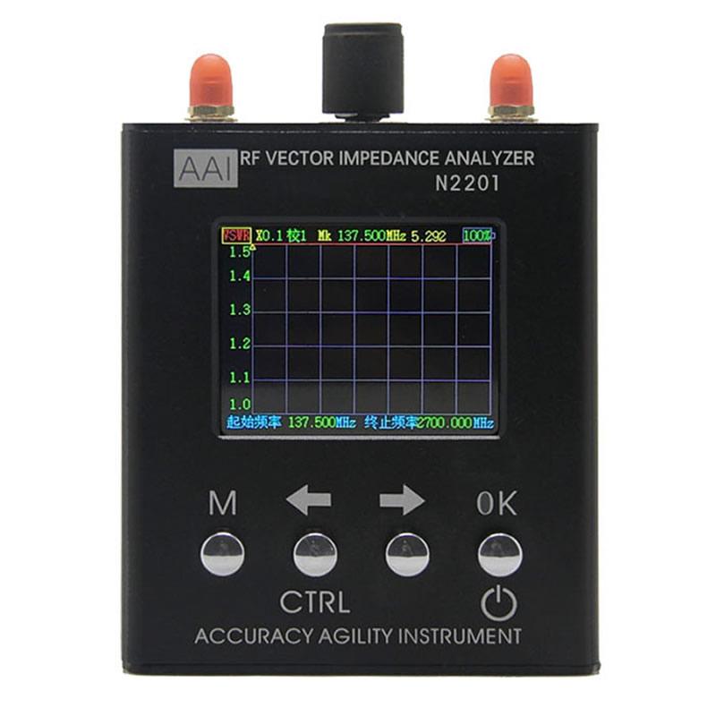 N2201SS Ruijie RFID antenna analyzer analyzer impedance analyzer 137 5M 2 7G power meter