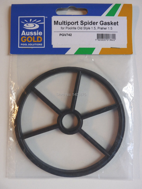 Multi Port Valve Mpv Spider Gasket Poolrite Praher 40mm Old Style Pool Filters