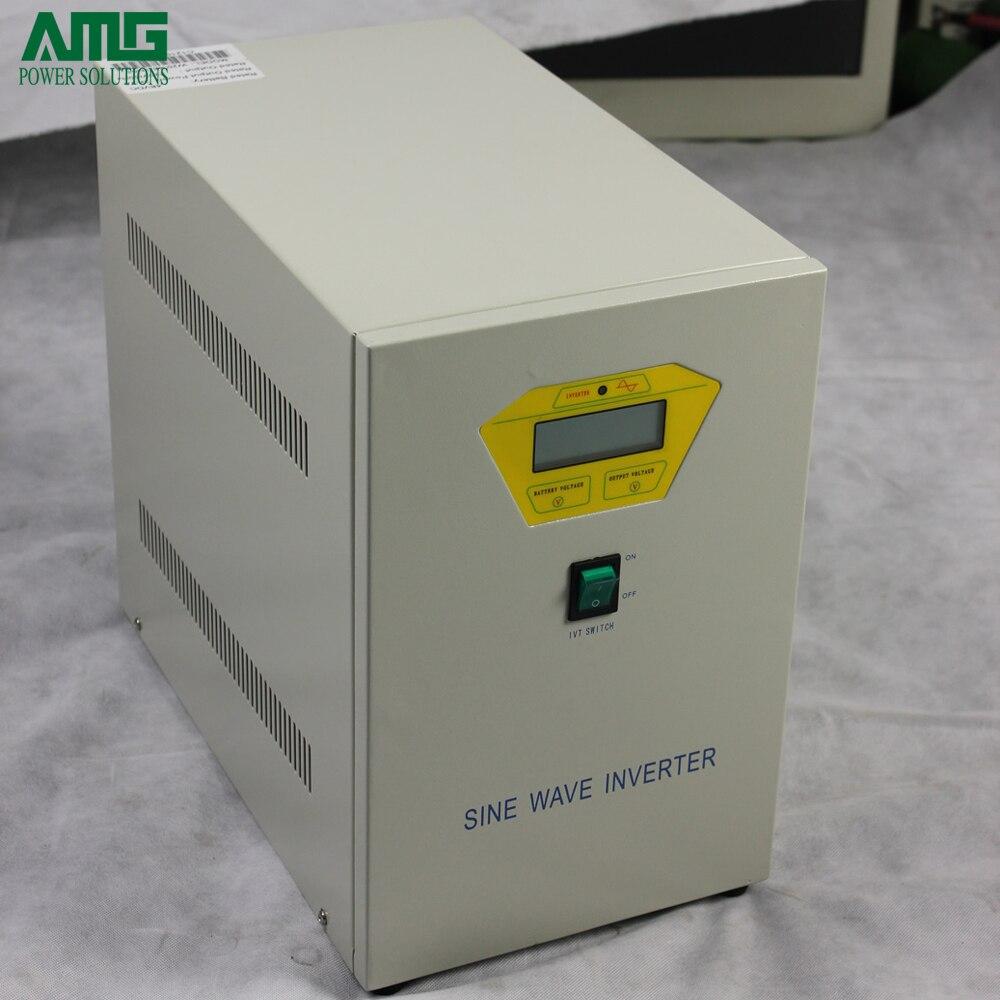 цена на 3000VA 120VDC To 110V/120V/220V/230VAC Industrial Frequency Pure Sine Wave Power Inverter/Solar Inverter/Single Phase Inverter
