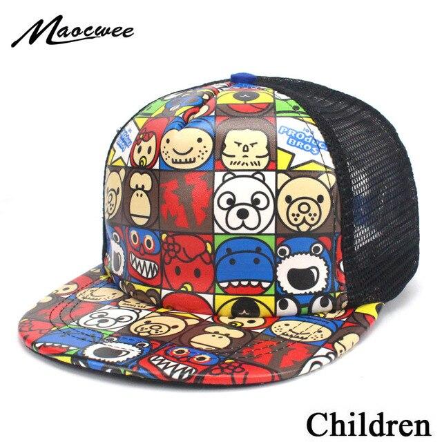 Cute 2018 Snapback Hat Kid's Children Unisex Baby Baseball Cap Girl Boy Cap Hip-hop Caps for Kids Drop shipping Summer Hats