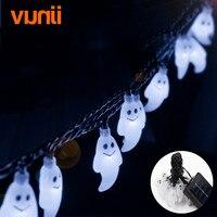 Vunji 6.5m 30 LED Solar Christmas Lights 8 Modes Waterproof Specter Solar Fairy String Lights for Outdoor Garden Decoration
