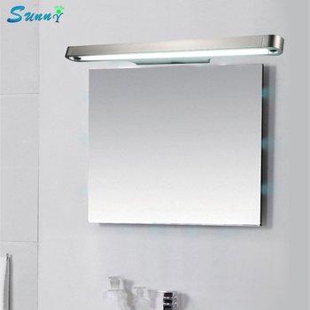 Современные Простые алюминиевые светодиоды для зеркал лестницы гостиной спальни прикроватная лампа подсветка на стену в ванную макияж для...