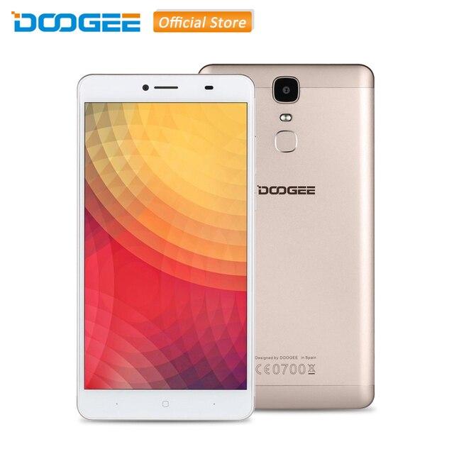 DOOGEE Y6 MAX 3D 6.5 дюймов MTK6750 Оcta Core Android 6.0 4G LTE Смартфон RAM 3 ГБ ROM 32 ГБ Датчик Отпечатков Пальцев 13.0МП Dual SIM