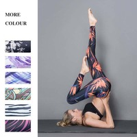 Zinwoco Women Fitness Leggings 3D Print Casual Legging for Women Pants Slim Jeggings Workout Leggin High Waist Leggings Trousers