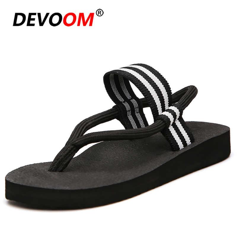 คู่ Teenslippers ผู้ชายกลางแจ้งรองเท้าแตะ Sepatu Wanita ฤดูร้อน Flip Flops ผู้ชายสไลด์รองเท้าแตะในร่มฤดูร้อนรองเท้าแตะผู้ชาย 35-44