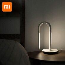 الأصلي شاومي فيليبس التحكم الذكي LED مكتب الجدول مصباح القراءة ضوء 2 App يعتم 4 أوضاع الإضاءة طاولة قابلة للضبط ضوء