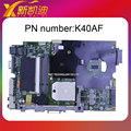 Para asus k40af laptop motherboard k40ab mainboard 100% testado original