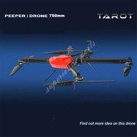 Таро Дрон peeper I 750 мм FPV Quadcopter кадров 4 оси БПЛА Phantom НЛО с пропеллером двигателем ESC и регулятором мощности TL750S1