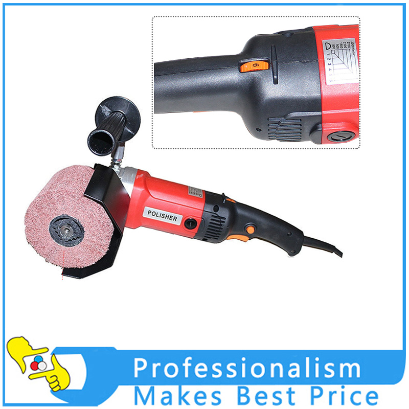 220V/110V Electric Metal Wire Drawing Machine Portable Polishing Machine for Stainless Steel Polishing Treatment oem china shenzhen manufacture base on your 3d drawing cnc machine part for steel polishing