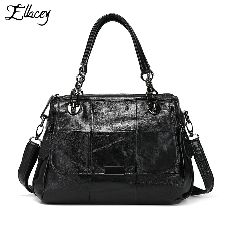 2017 Luxury Brand Bag Designer Patchwor Genuine Leather Handbag Ladies Real Leather Shoulder CrossBody Bags Women Bag Sac Femme famous brand women bag design classic hollow out lace real leather shoulder bag ladies party handbag luxury crossbody bags