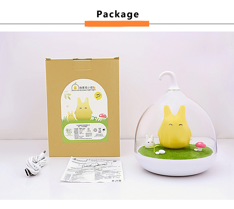 Original Spiderwick Touch Lamp Fantasy Fairy Portable Sensor Night Light Usb Rechargeable Baby Bedside Bird Landscape In Lights From