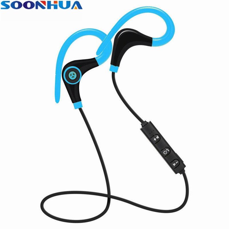 SOONHUA Wireless Bluetooth Headphones Stereo HD Music Headset Sport Earphone Handsfree fone de ouvido For Xiaomi iPhone Samsung
