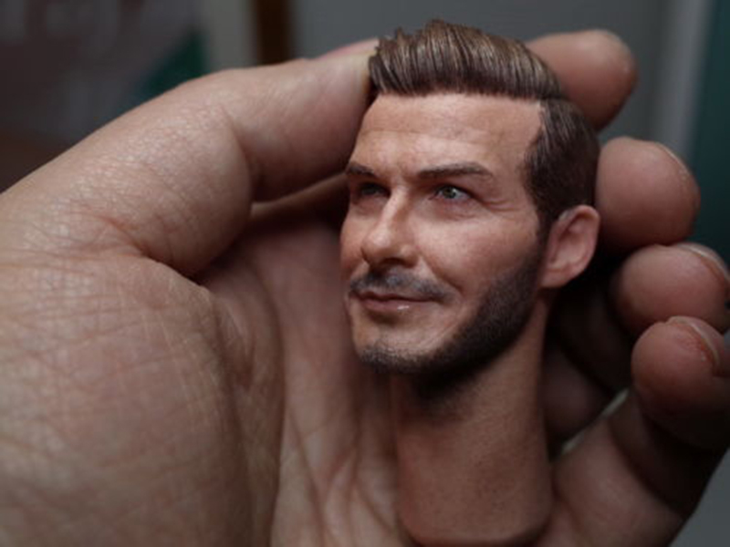 High Quality 1 6 Scale David Beckham Head Sculpt and Male Head Model fit 12 quot Action Figure for Toys Collection Head Accessory in Action amp Toy Figures from Toys amp Hobbies