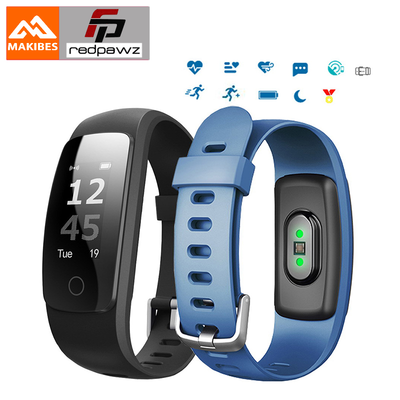 Makibes ID107 Plus HR Bluetooth SmartBracelet Smart band Heart Rate Monitor Multi sports Cardio Fitness Guided Breathing Tracker