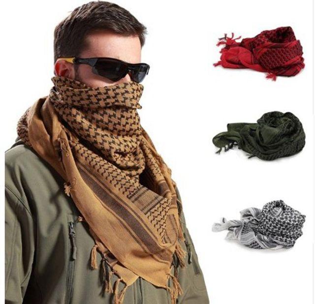 Disguise Scarfs Shemaugh Turban headscarf US Army Arab SAS Shemagh Yashmagh  Arafat BlackHawk Tactical cravat  fd7fac67d65
