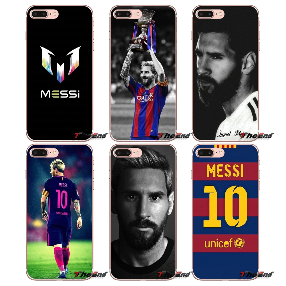 Leo Messi lionel For Huawei G7 G8 P7 P8 P9 Lite Honor 4C 5X 5C 6X Mate 7 8 9 Y3 Y5 Y6 II 2 Pro 2017 Transparent TPU Shell Covers logo messi
