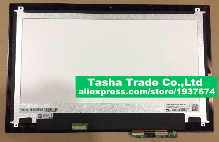For Dell Inspiron 13 7347 Inspiron13 7347 Touch Screen Panel and LCD Screen Assembly LP133WH2-SPB1 13 3 laptop replacement screen lp133wh2 tl m5 lcd display panel monitor lp133wh2 tlm5 04w1768 lvds 1366x768 free shipping