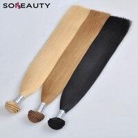 613 Blonde Hair Bundle 1 PC Brazilian Straight Hair Weave 100% Human Remy Hair Double Weft
