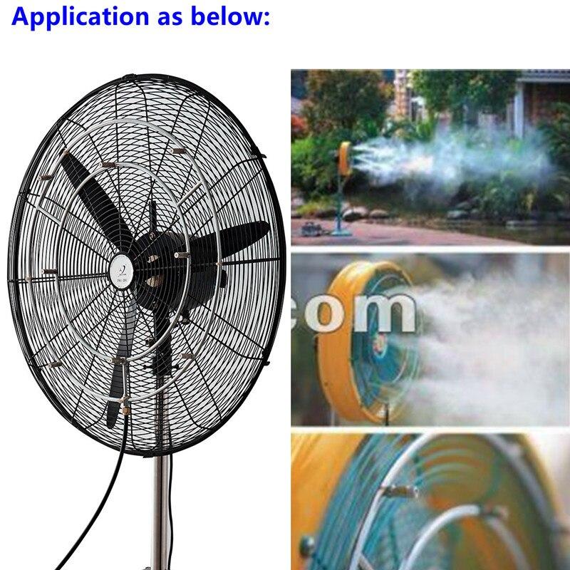 A264 Stainless steel fan cooler system double fan ring