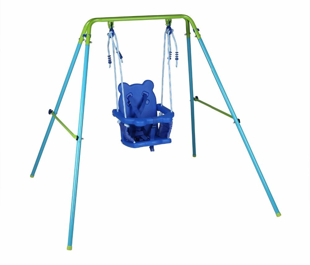 HLC Indoor Outdoor Safe Infant Toddler Swing Set for Baby ...