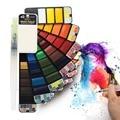 Superior Multi Colors Paint Set Solid Professional Watercolors With Paint Brush Foldable Watercolor Pigment 18/25/33/42 Colors