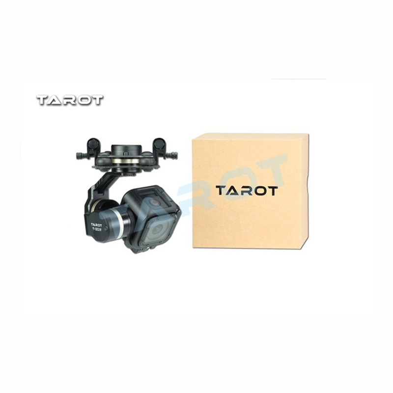 Tarot-RC TL3T02 GOPRO T-3D IV 3 Axis HERO4 SESSION Camera Gimbal PTZ for FPV Quadcopter Drone Multicopter tarot 3d v metal 3 axis ptz gimbal for gopro hero 5 camera stablizer tl3t05 for fpv drone system action sport camera