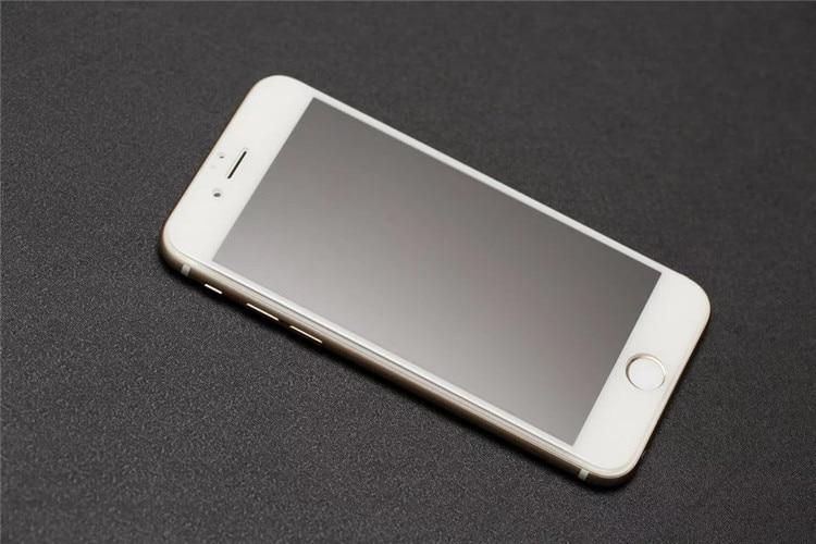 9H 2.5D matowy matowy pełna pokrywa szkło hartowane Screen Protector dla iPhone X XS MAX XR 10 8 7 6s 6 Plus 7Plus anty odciski palców 19