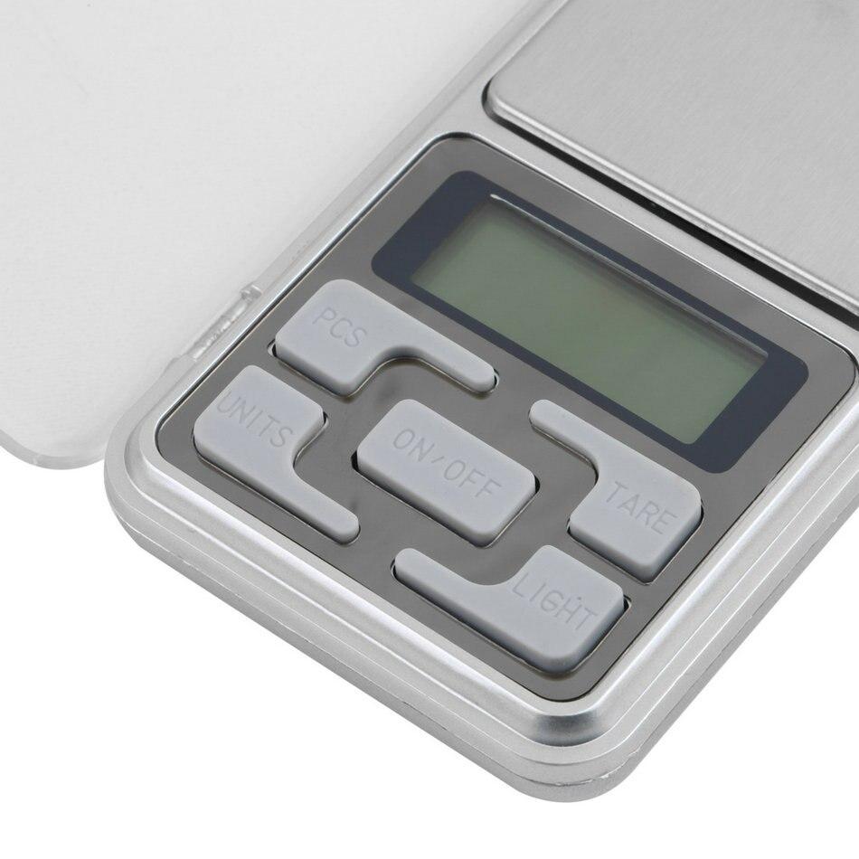 1 vnt 200 g / 0,01 g elektroninės mini skaitmeninės kišenės - Matavimo prietaisai - Nuotrauka 3