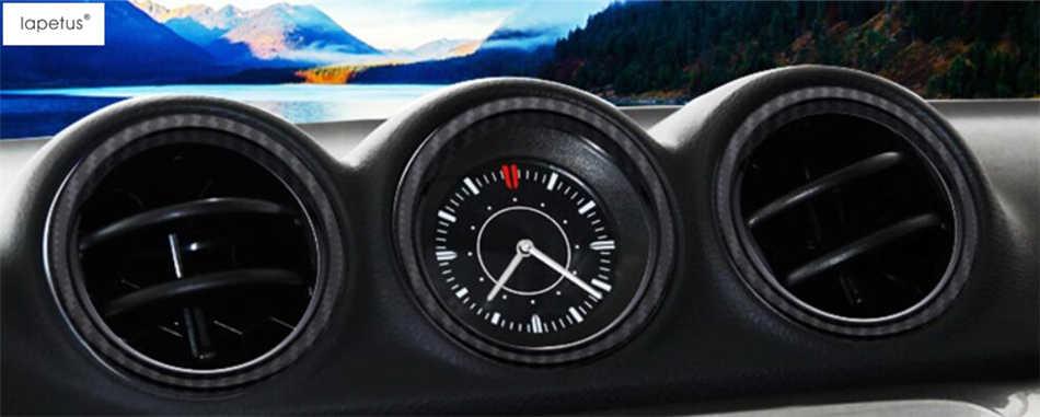 Akcesoria Lapetus dla Suzuki Vitara 2015-2019 klimatyzacja AC odpowietrznik wylotowy ozdobna obręcz zestaw formowanej pokrywy wykończenie 5 sztuka