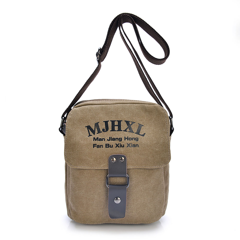 Messenger bags for high school - Popular Mini Canvas Men Shoulder Bags High Quality Wearable School Travel Messenger Bags Vogue Male Crossbody Bags