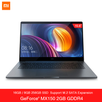 Xiaomi Notebook Pro 15.6'' Intel Core i5/i7 Laptop MX150 DDR4 8GB/16GB Fingerprint Recognition For Office Computer