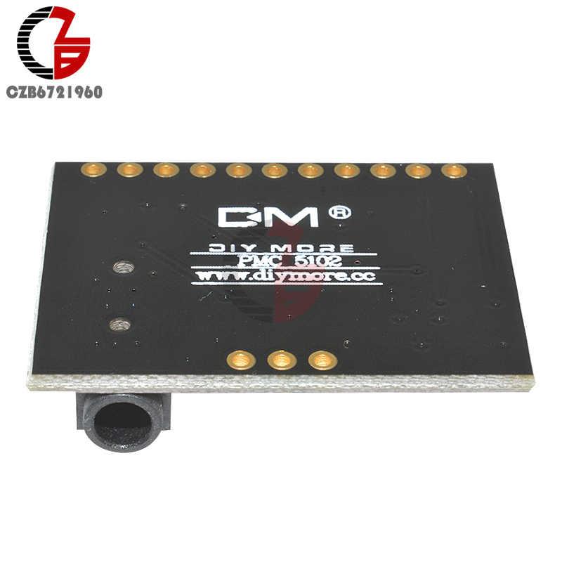 PCM5102A DAC I2S واجهة فك مجلس 192 كيلو هرتز 24bit 3.5 مللي متر مقبس استريو الرقمية مشغل الصوت فات تنسيق وحدة ل التوت بي