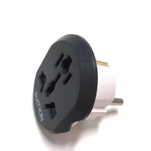 Image 2 - AUKTION 5Pcs/Lot 16A Universal EU(Europe) Converter Adapter 250V AC Travel Charger Wall Power Plug Socket Adapter For US UK AU