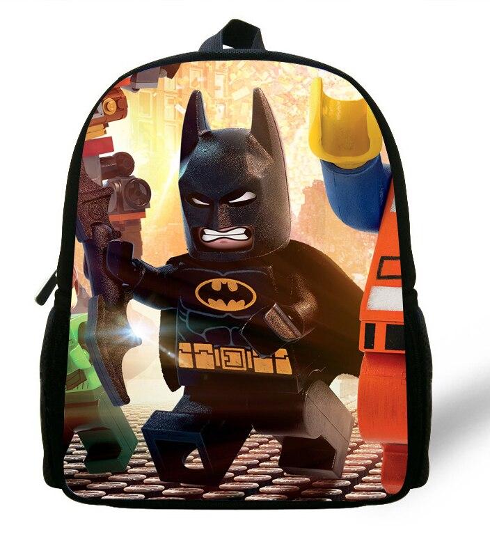 12 inch Cool Kids Backpacks School Batman Bag For Kids Cartoon ...