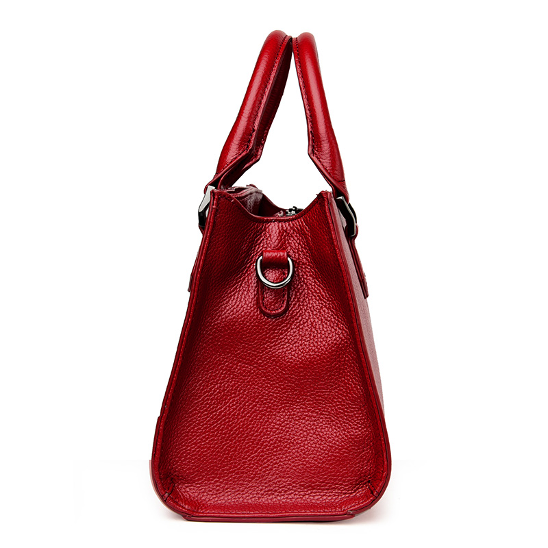 100% Genuine Leather Women Bag Ladies Women Shoulder Bags 2017 New Fashion Designer Handbags High Quality Famous Brands Tote Bag 2