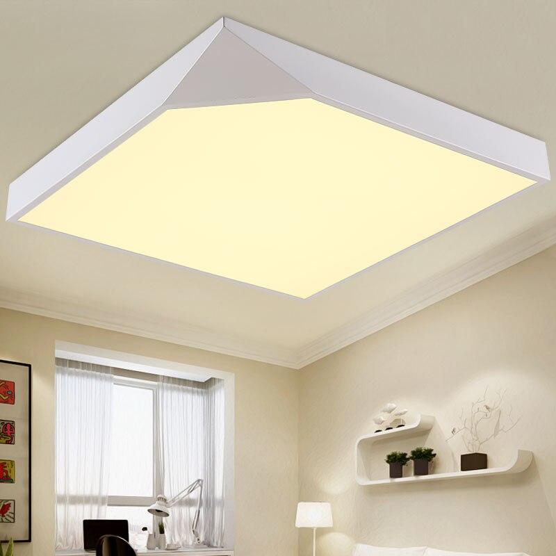 24W Led Lamp Modern Ceiling Light Bedroom Living Room Stair Kitchen Decor Whi