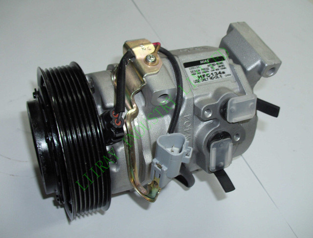 Auto air conditioner ac  compressor for toyota camry 2005 6pk 10S17C part number:4472204065