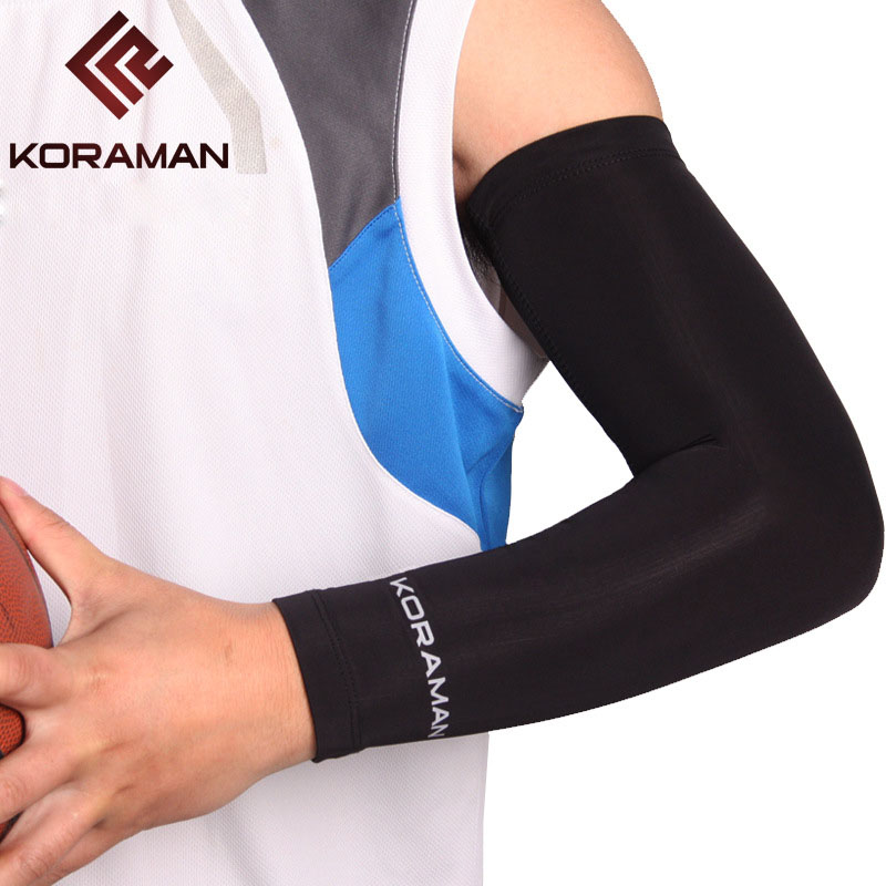 NEW 2019 Outdoor Arm Warmers Prevent Bask Uv Protection High Stretch Breathable Sport Running Basketball Cycling Raglan Sleeves